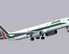 3D asset Airbus A321-200 Alitalia