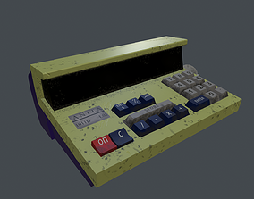 Calculator 3D model VR / AR ready