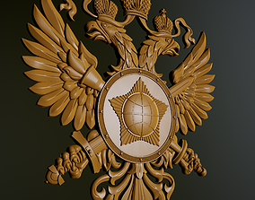 the emblem of foreign intelligence 3D printable model