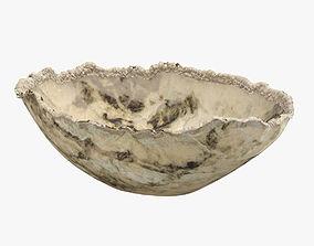 Light & Dark Brown Handmade Bowl 3D model