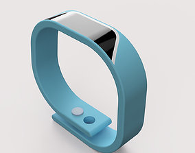 plastic smart watch 3D model