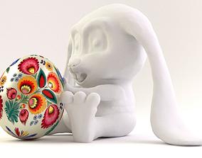 Easter Bunny 3D print model