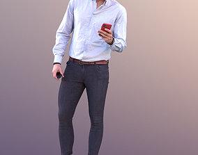 Dan 10479 - Standing Business Man 3D asset