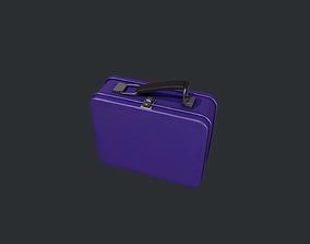 3D model Purple Tin Lunchbox