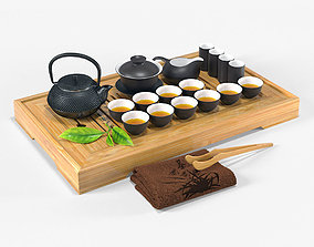 Tea Ceremony Set 3D