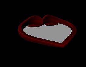 bed heart 3D