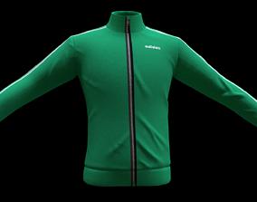 adidas jacket 3D model