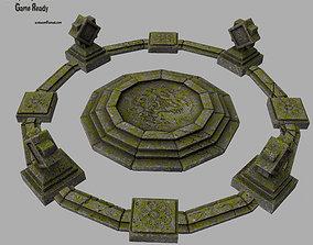 temple 1 3D asset