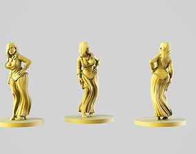 figurine Queen 3D print model