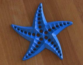 3D printable model Starfish deco