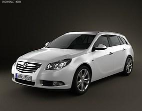 3D model Vauxhall Insignia Sports Tourer 2010