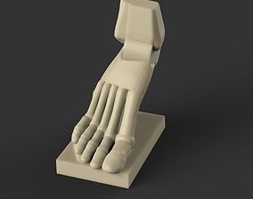 3D print model Foot reference 2 part 3