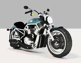 Harley Davidson Motorcycle 3D model