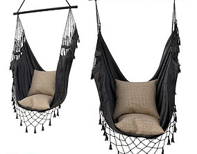 Hammock BOHO IN CHARCOAL COLOR 15000CHCL 3D