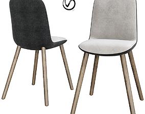 3D model Mad Dining Chair Poliform