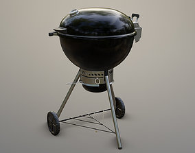 3D model Weber One Touch Grill