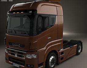 3D model KamAZ 5490 S5 Tractor Truck 2014
