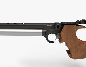3D asset PBR Air Pistol AS-10
