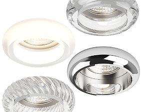 00620x Tondo Lightstar Recessed spotlight 3D