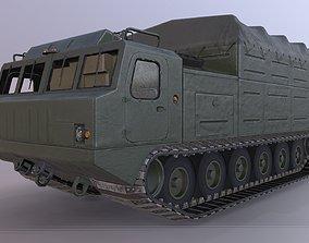 3D model DT-30 Vityaz tractor