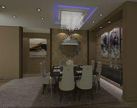 interior dinning room 3D