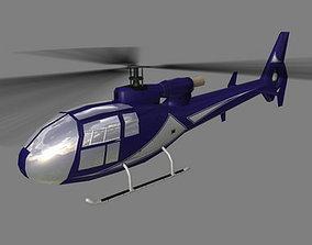 3D model Gazelle V5 Helicopter
