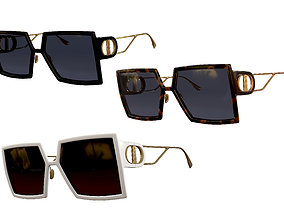 3D asset Dior Sunglasses 30Montaigne