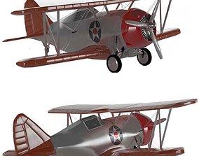 Grumman F2F-USA WW2 PLANE 3D model