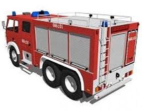 3D asset STAR Fire Truck Polish