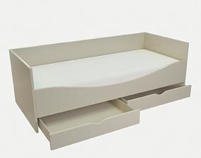 Childrens bed 3D model