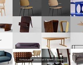 lounge Furniture pack - collection of 17 models
