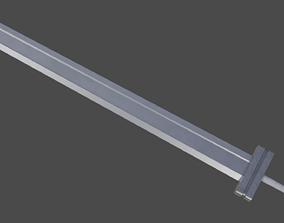 Guts Sword from Berserk 3D asset
