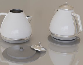 3D model Contemporary colourful kettle1-white