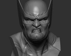 Wolverine Bust 3D printable model