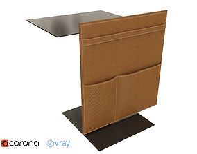 Lema note side table 3D model