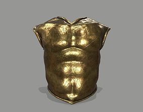 spear armor 3D asset game-ready