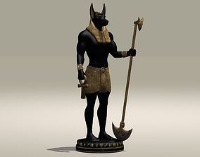 Anubis Egypt Protector of the Dead 3D