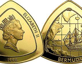 3D printable model Coin Elizabeth 2