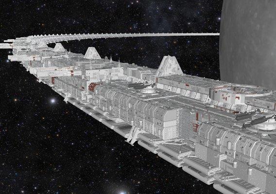 starship troopers lunar base