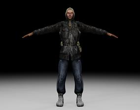3D asset Stalker - Bandit 06
