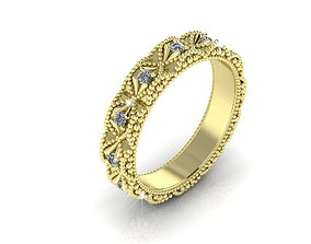 3D print model Infinite Diamond Ring All Around