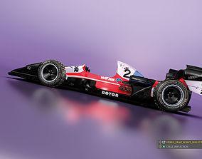 car 3D model Rotor Racer Soot Free Team
