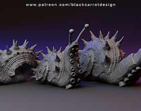 Snail monsters - Sea Maggots 3D printable model