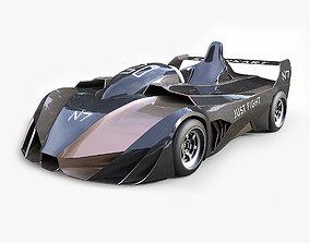 3D asset Futuristic Superkart