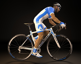 realtime Cyclist 3D model