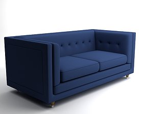 Sofa Hall Rodolfo Dordoni 3D model