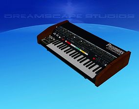 Roland ProMars Synthesizer 3D