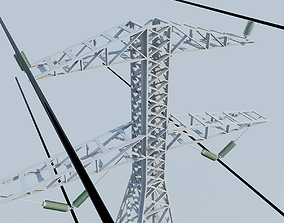 3D Electrical Tower MAX 2011