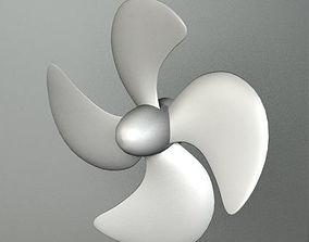 BOAT PROPELLER 3D model