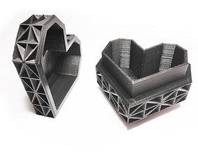 3D printable model Heart Jewelry Box